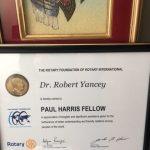 Robert Yancey - Rotary Award